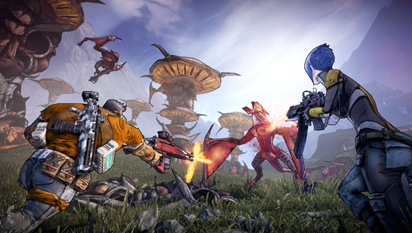 Borderlands 2 gepseeld op de Gamescom