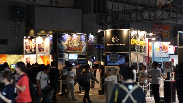 De kwestie over de Tokyo Game Show