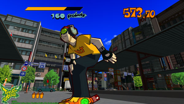 Jet Set Radio Launch Trailer