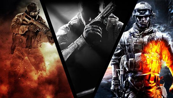 EvdWV met COD: Black Ops 2, MOH: Warfighter en Battlefield 3