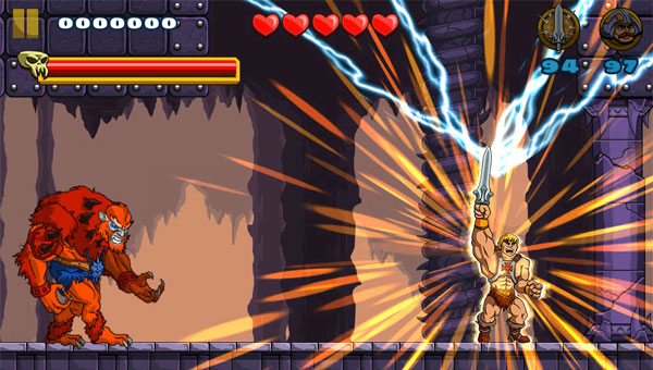de redactie speelt He-Man voor de iOS
