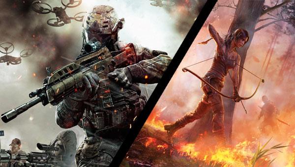 EvdWV met Black Ops 2 Revolution en Tomb Raider