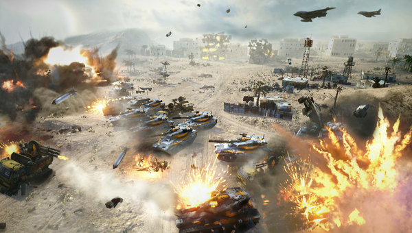 Command and Conquer Hands-on