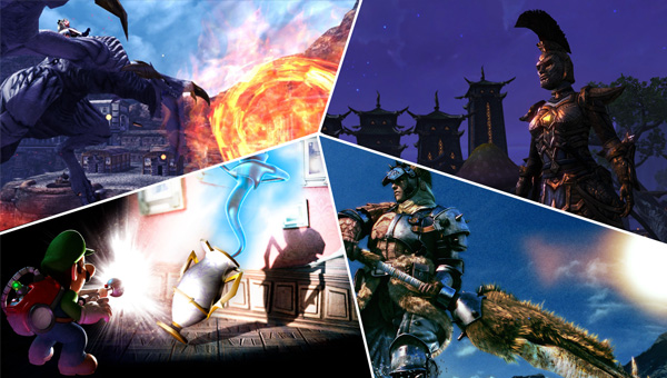 EvdWV over Monster Hunter 3 Ultimate en Luigi's Mansion 2