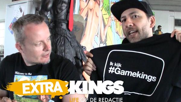 De vijfde winnaar van het ik kijk #Gamekings T-Shirt