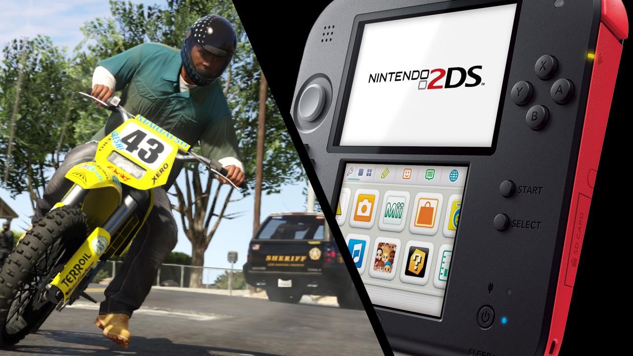 EvdWV over de Nintendo 2DS en GTA V
