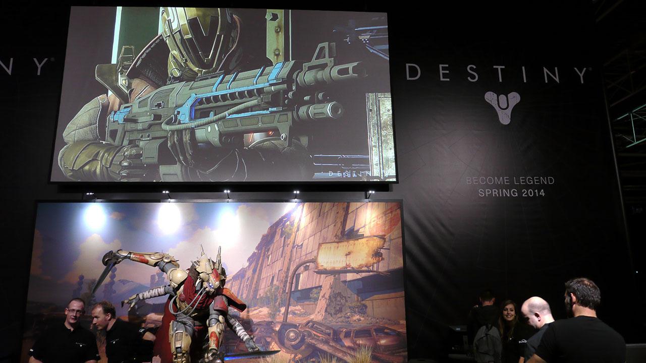Firstlook TV dag 2 met de Xbox One en Destiny