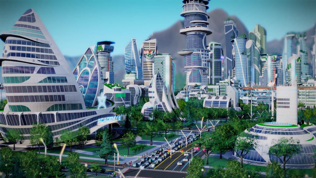 Simcity steden van de toekomst review for Van de tv