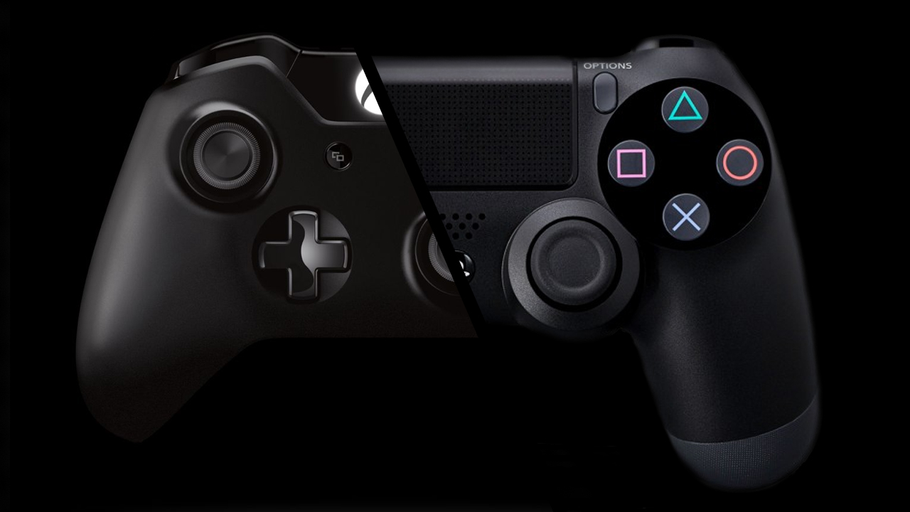 Xbox One Controller versus PlayStation 4 Controller