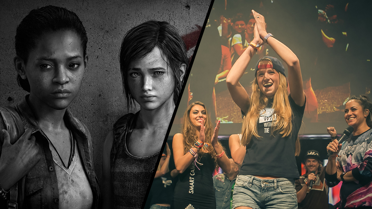 EvdWV met The Last of Us en Boothbabes