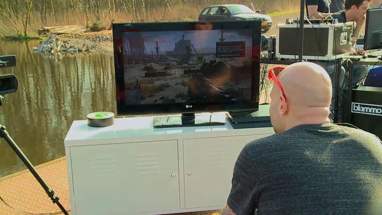 De Gamekings 4G livestream uitdaging