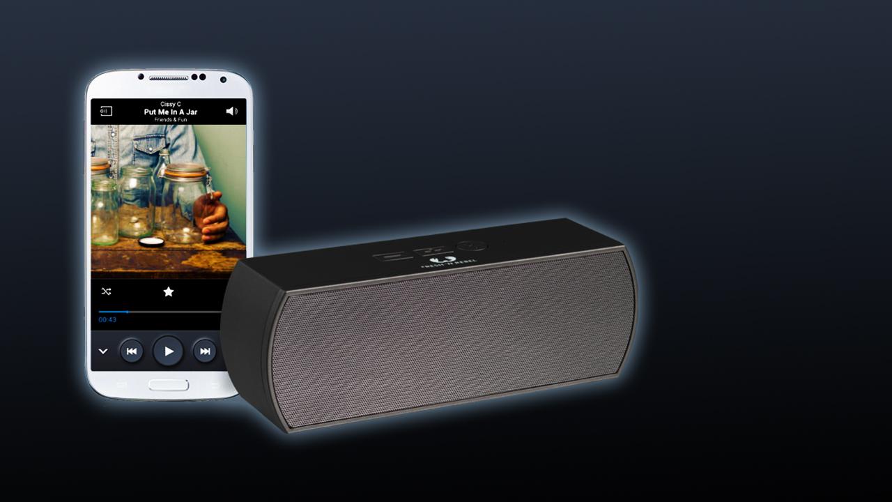 Special Draagbare Bluetooth Speakers met Rockbox