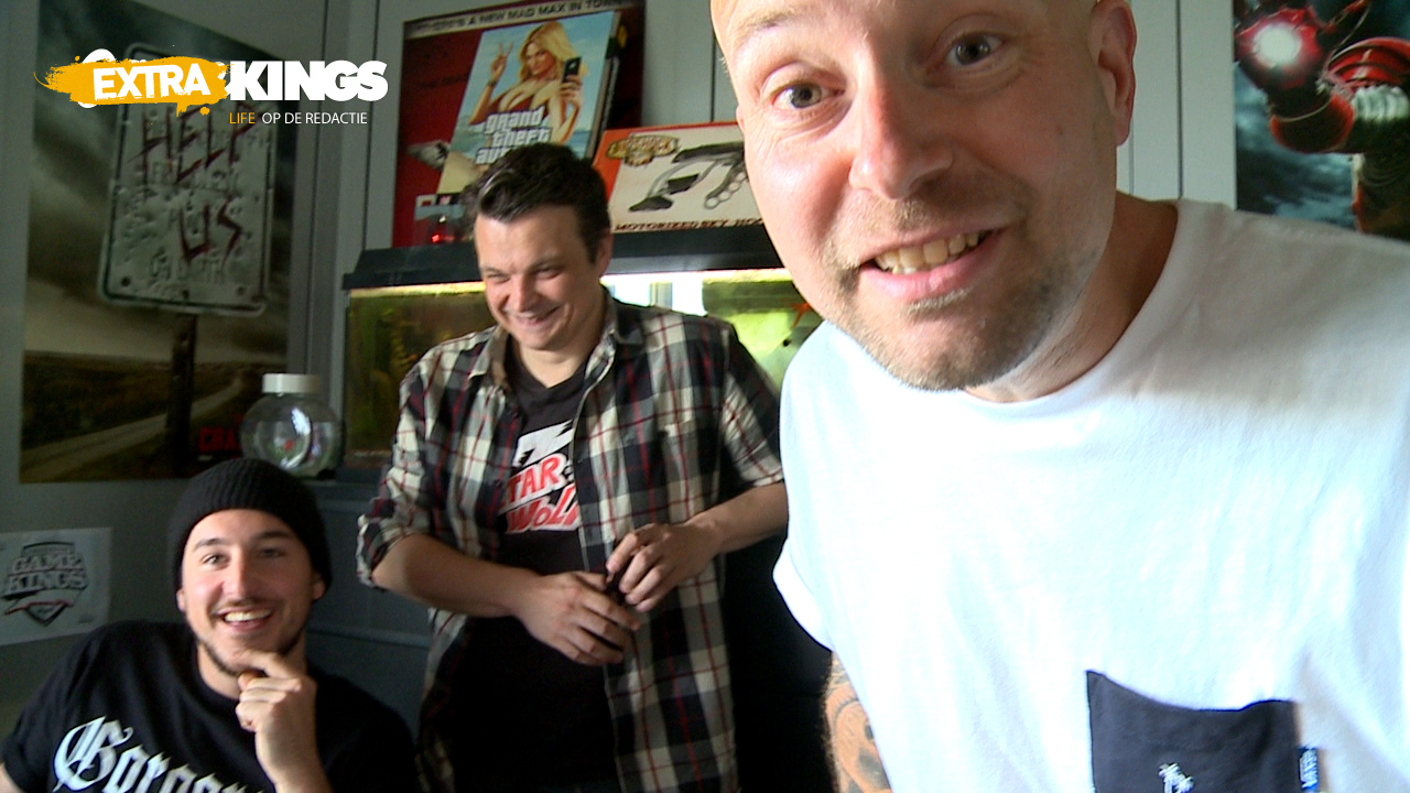 Gamekings Extra: Boris, Vasco en Jelle teasen de nieuwe site