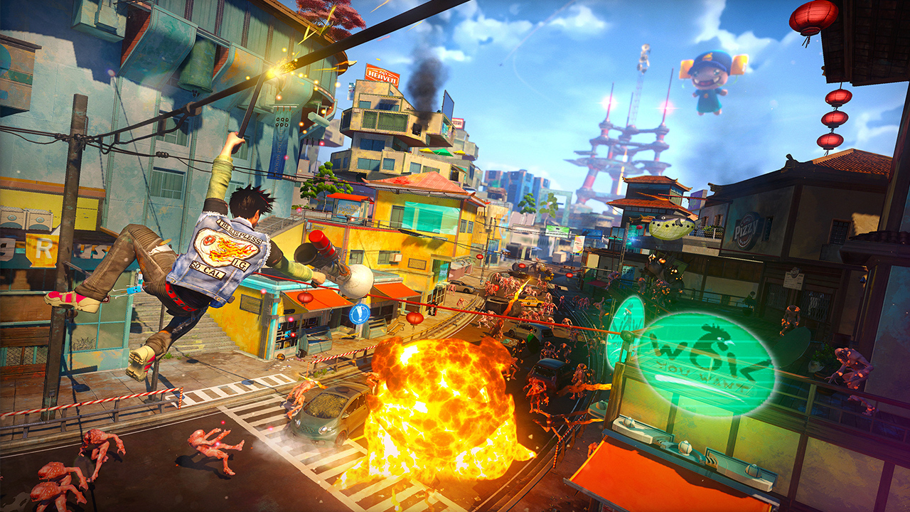 Sunset Overdrive E3 2014 Preview