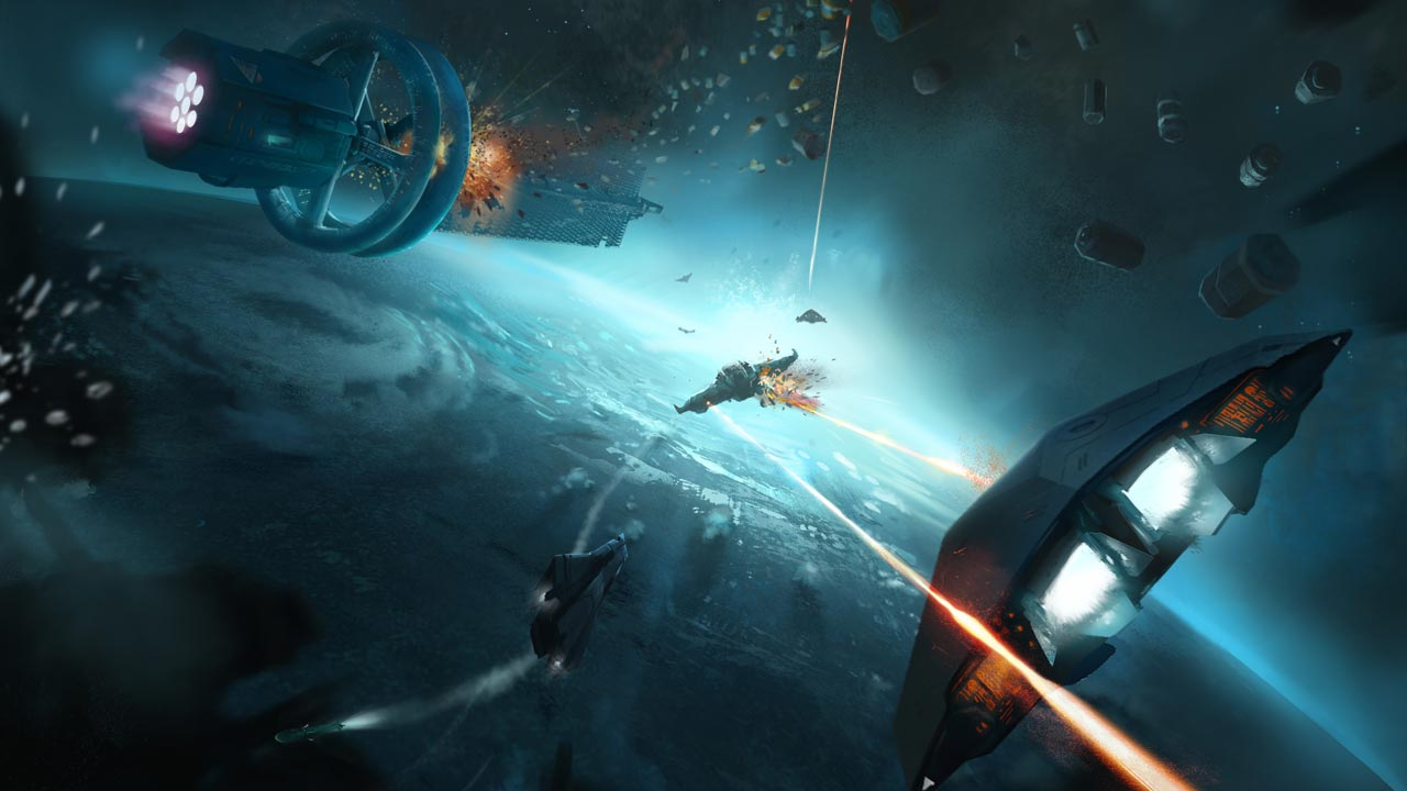 Vlieg met de Oculus Rift naar hyperspace in Elite: Dangerous