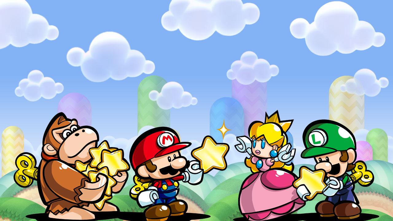 Red alle mini Nintendo-helden in Mario vs Donkey Kong Wii U