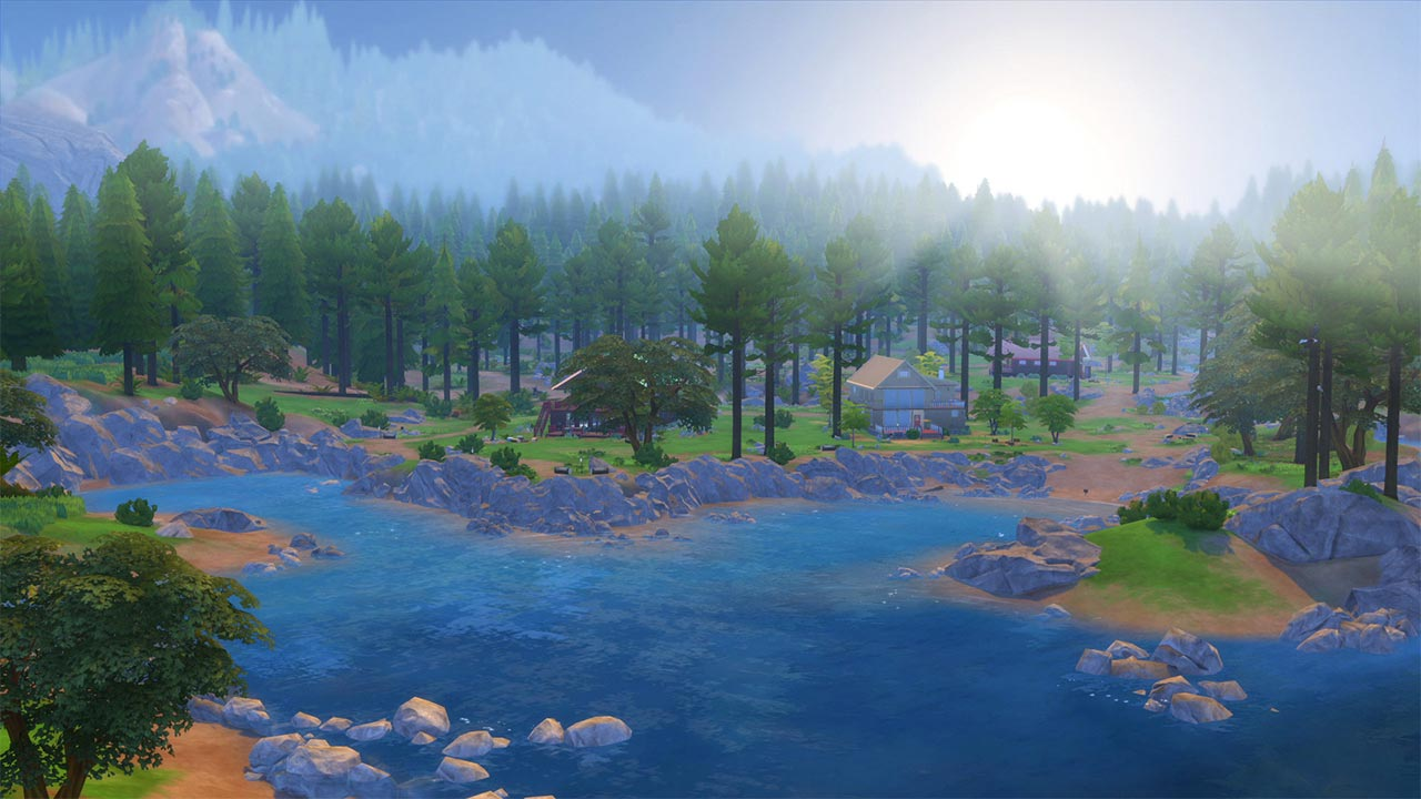 The Sims 4 update met Outdoor Retreat DLC