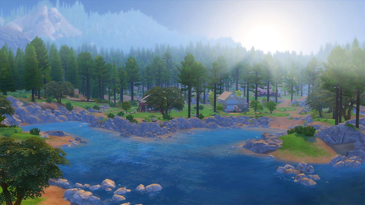 The Sims 4 update met Outdoor Retreat DLC