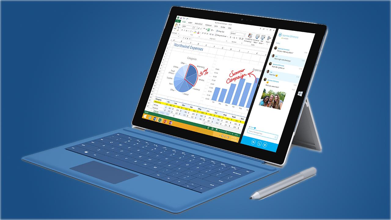 Gearkings over de Surface Pro 3