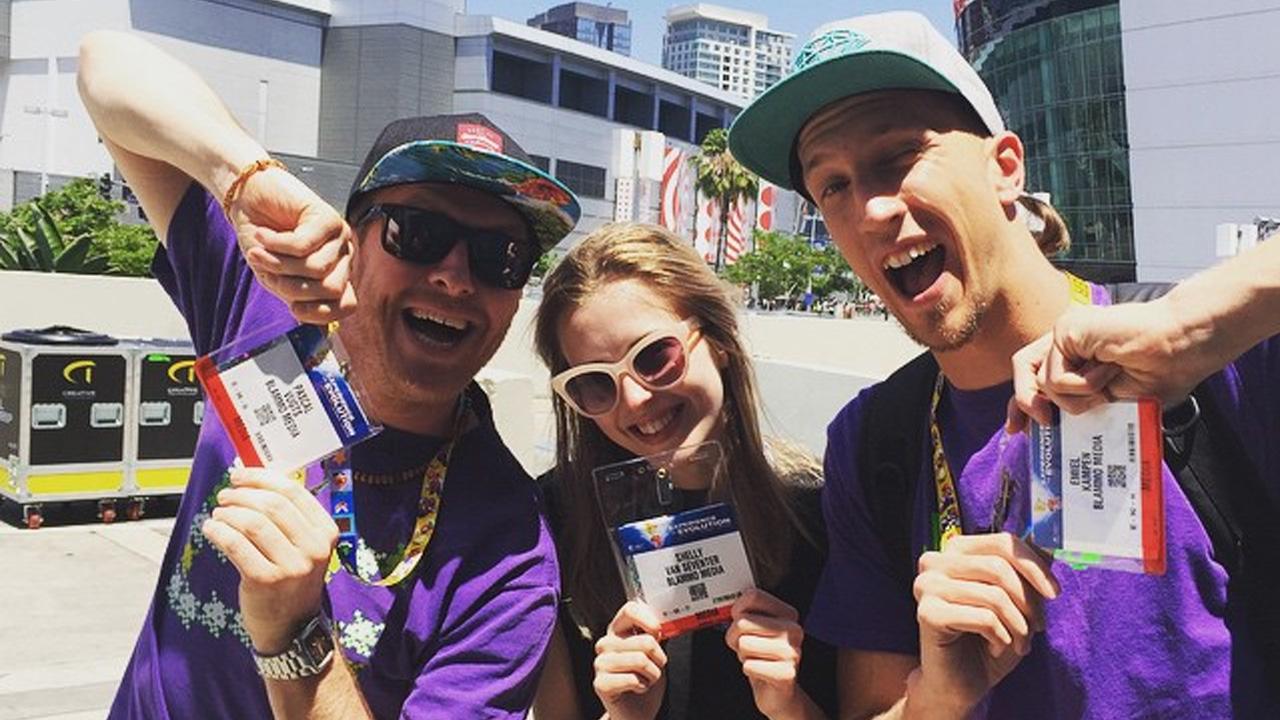 Gamekings in Los Angeles: Passen ophalen voor de E3