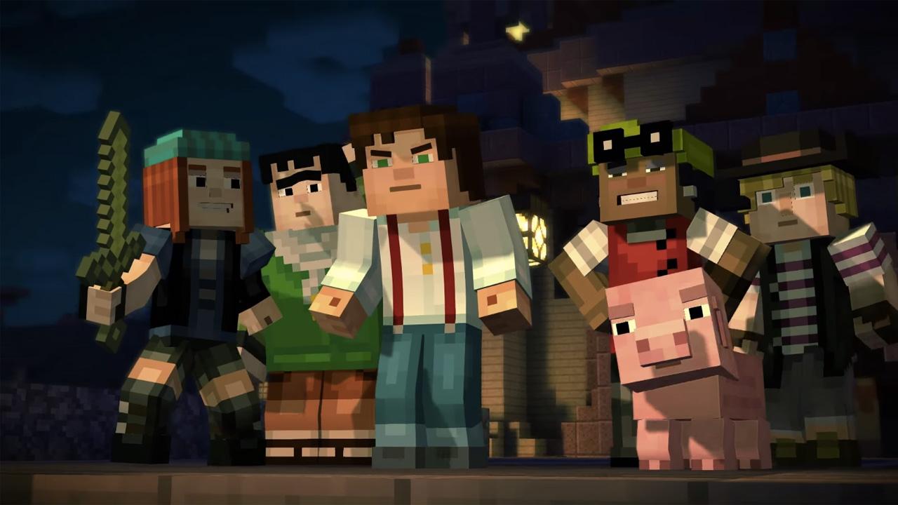 Indiekings over Minecraft: Story Mode en Steam Link