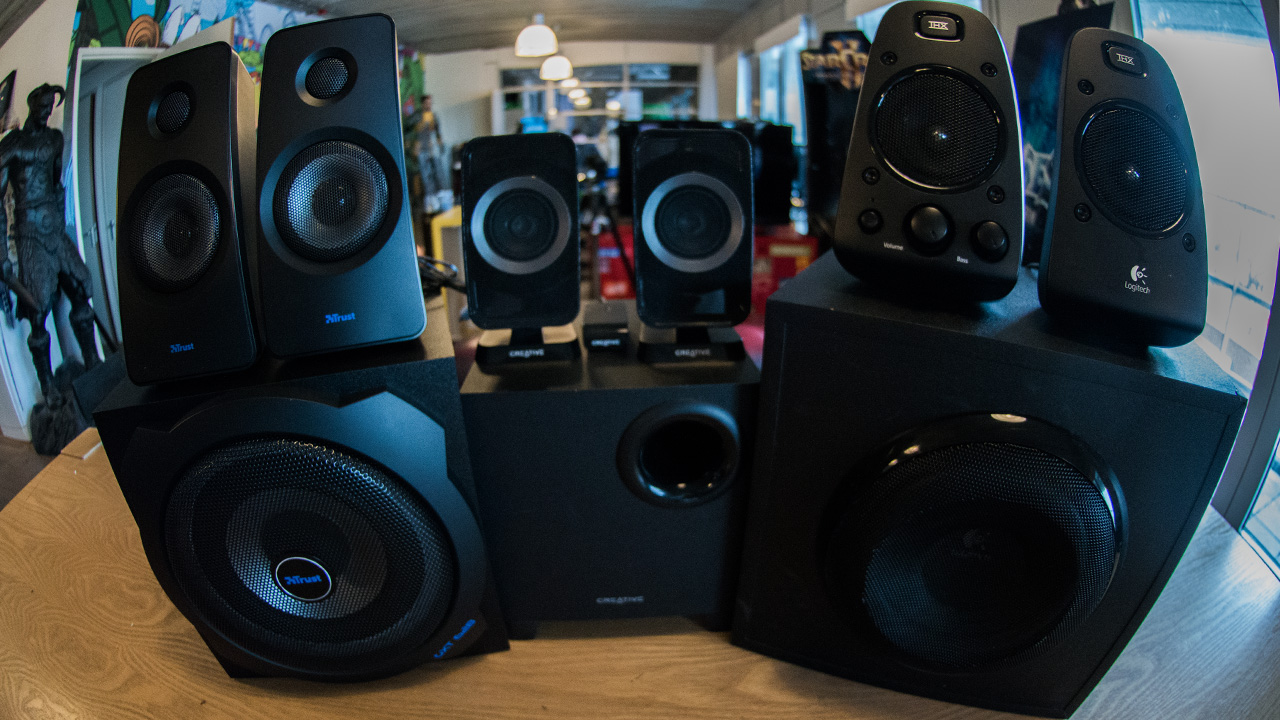 Gearkings: Blind 2.1 Speakersets Testen