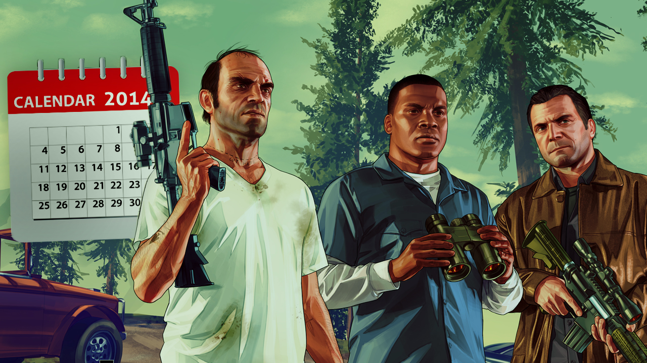 Grand Theft Auto V - 1 jaar later