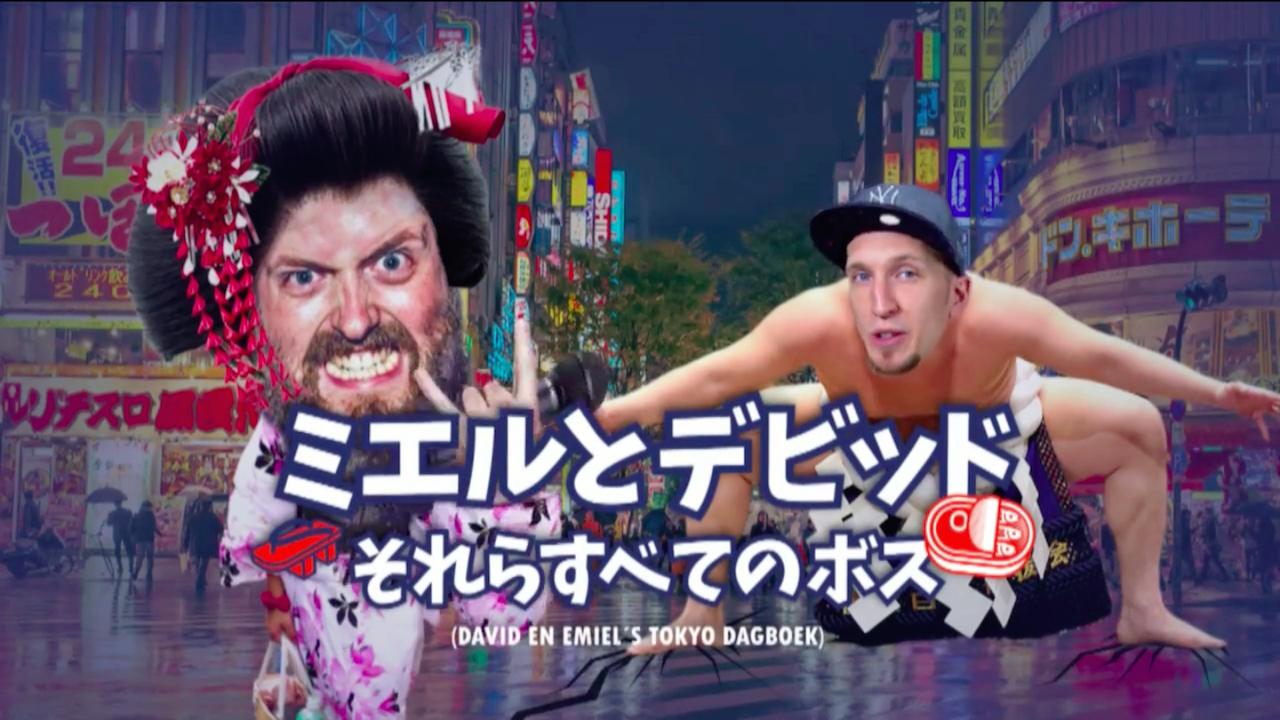 David en Emiel's Tokyo-Dagboek: De Heenreis