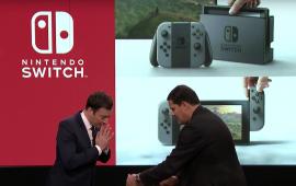De Nintendo Switch voor het eerst live in actie met de nieuwe Zelda