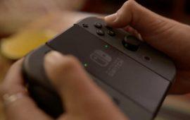 De Charging Grip voor de Joy-Con controllers zit niet in de doos van de Switch