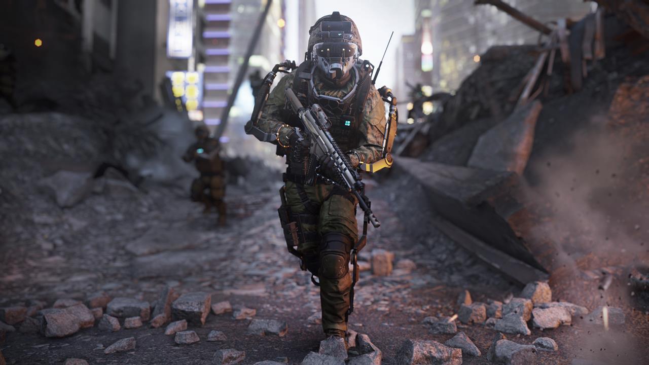 evolutie van de Call of Duty: Advanced Warfare multiplayer
