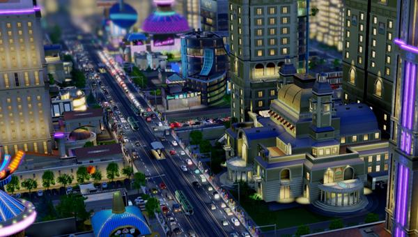 James Haden over SimCity