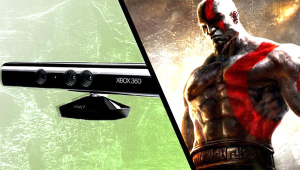 EvdWV met Kinect en God of War Ascension