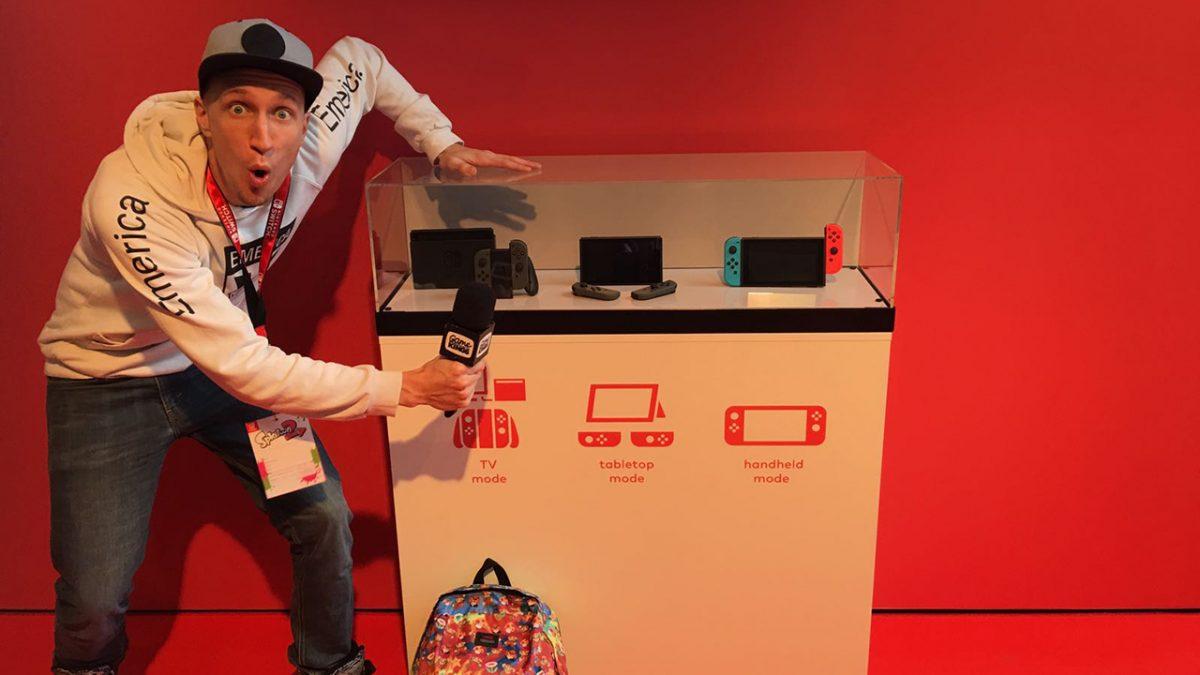 Nintendo Switch Hands-on