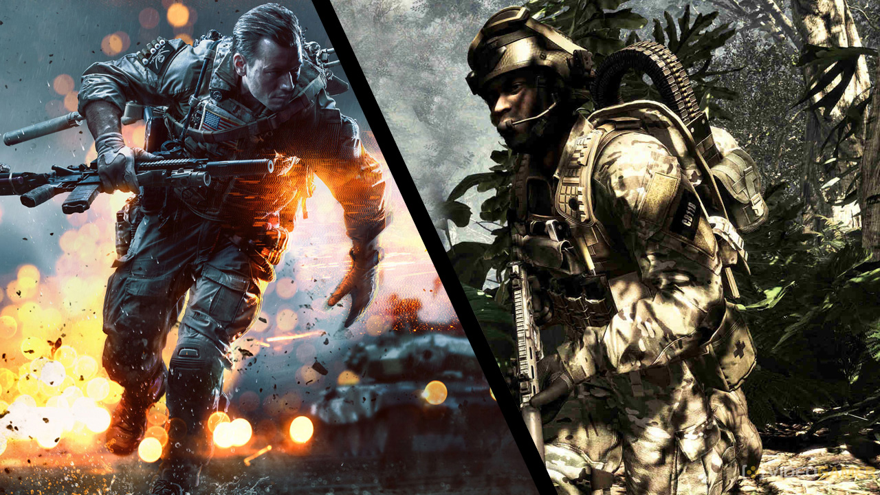 EvdWV met Battlefield 4 en Call Of Duty: Ghosts