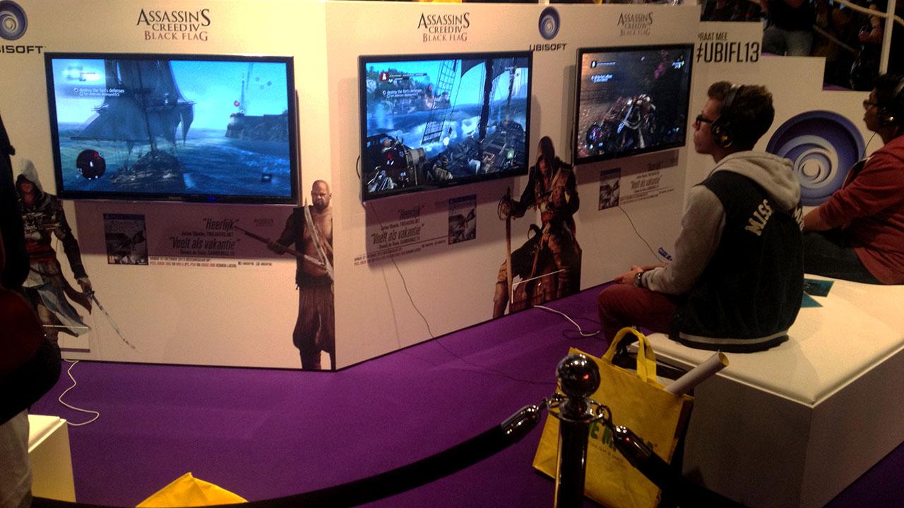 Firstlook TV dag 1 met Assassin's Creed IV: Black Flag