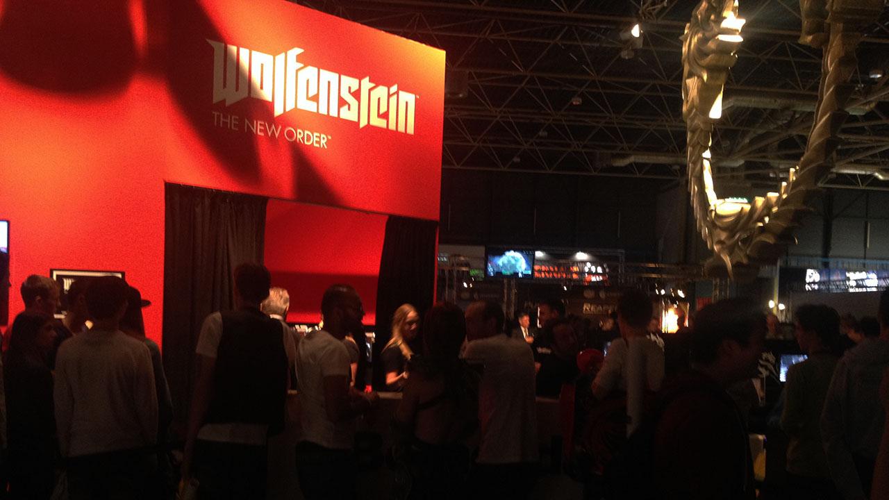 Firstlook TV dag 1 met Wolfenstein: The New Order en Logitech
