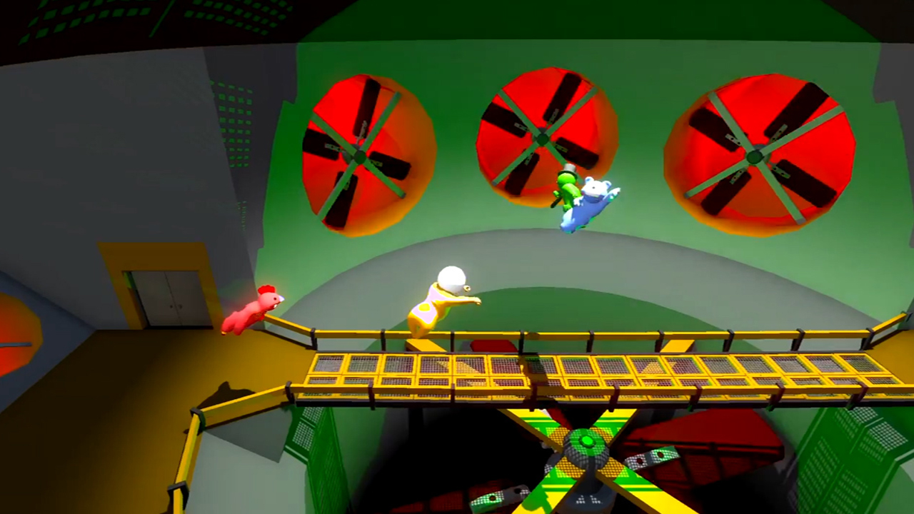 how to play gang beasts on ps4