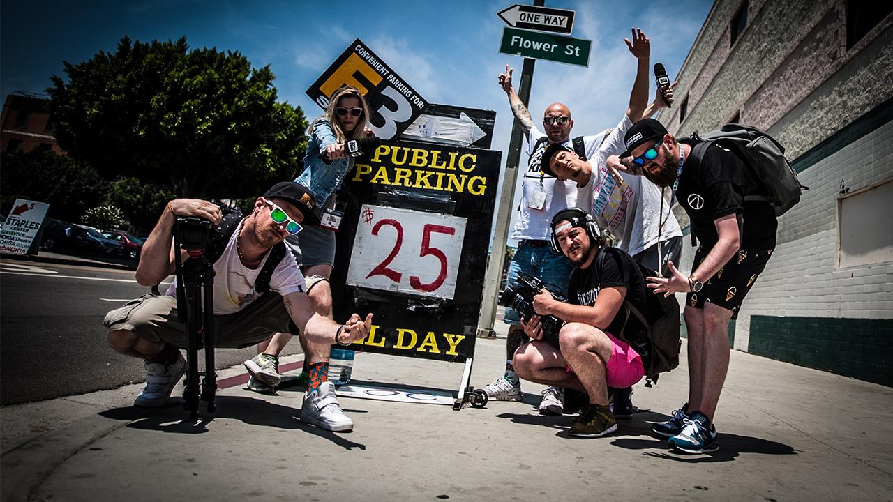 Gamekings in Los Angeles: De eerste Beursdag!