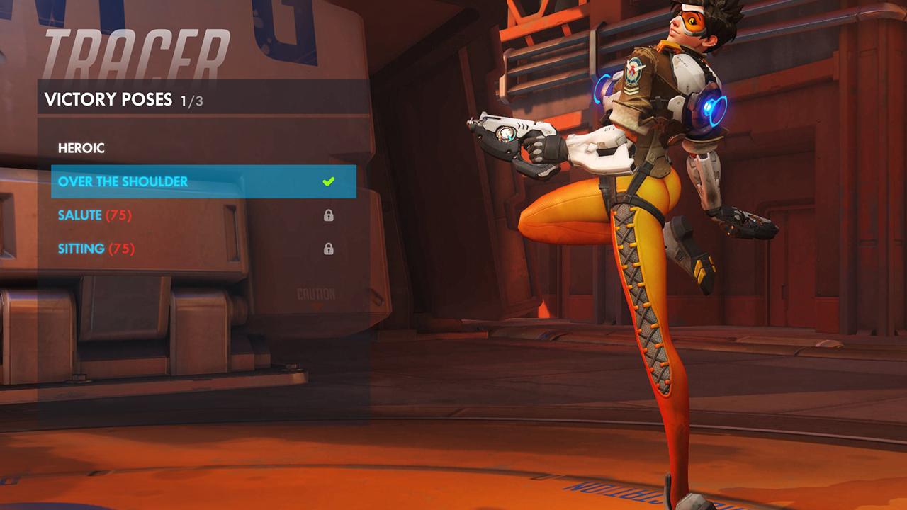 Controversiële pose Tracer vervangen met pin-up pose in Overwatch
