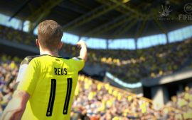 Marco Reus schittert op de FIFA 17 box art