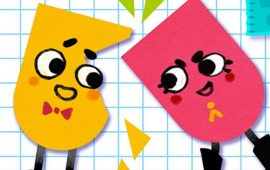 Snipperclips is een launchgame voor de Nintendo Switch