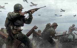 Call of Duty: WW2 aan de top van elke chart
