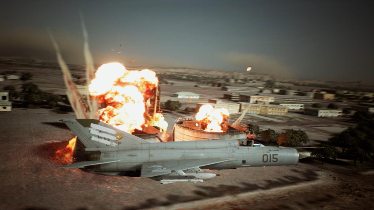 Ace Combat 7: Skies Unknown: 'Koos stapt in de schoenen van een F16-piloot'