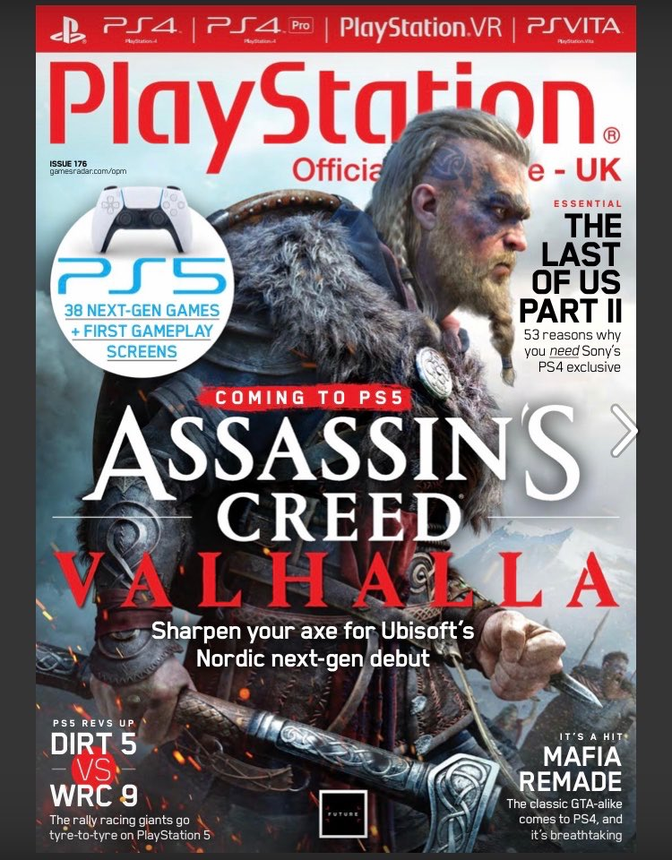 Official PlayStation Magazine PS5 cover