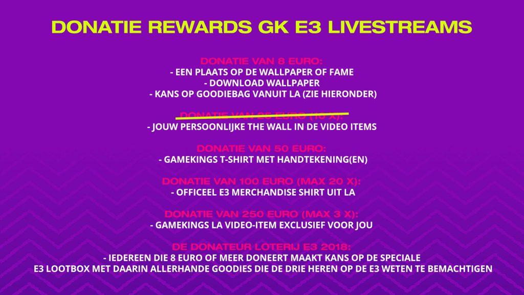 GKE3 Donaties