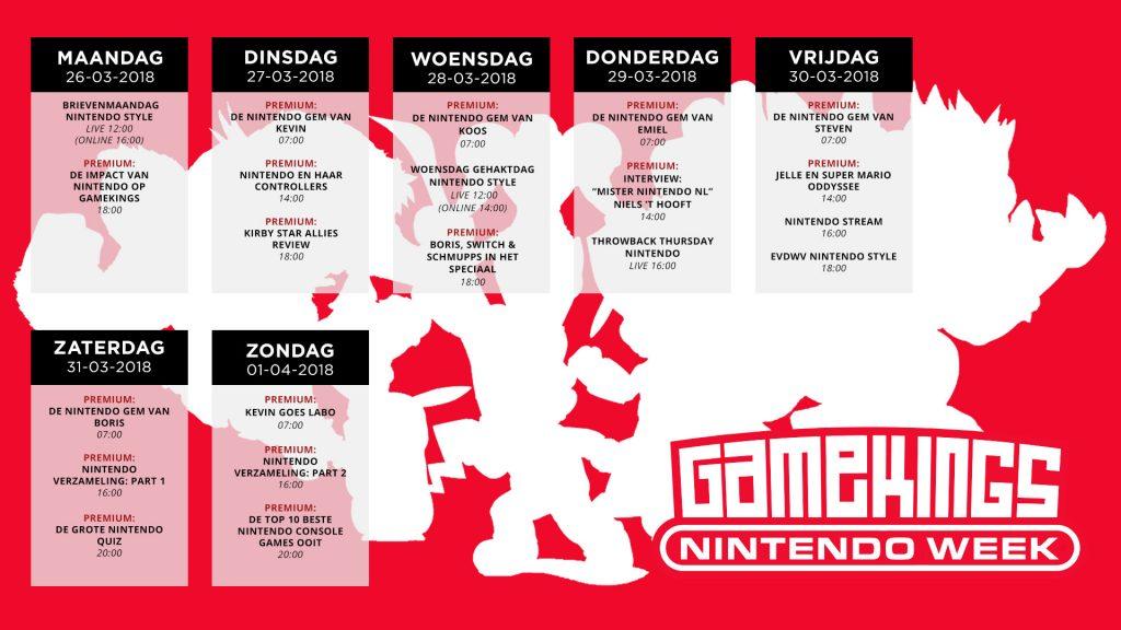 Gamekings Premium Nintendo Week