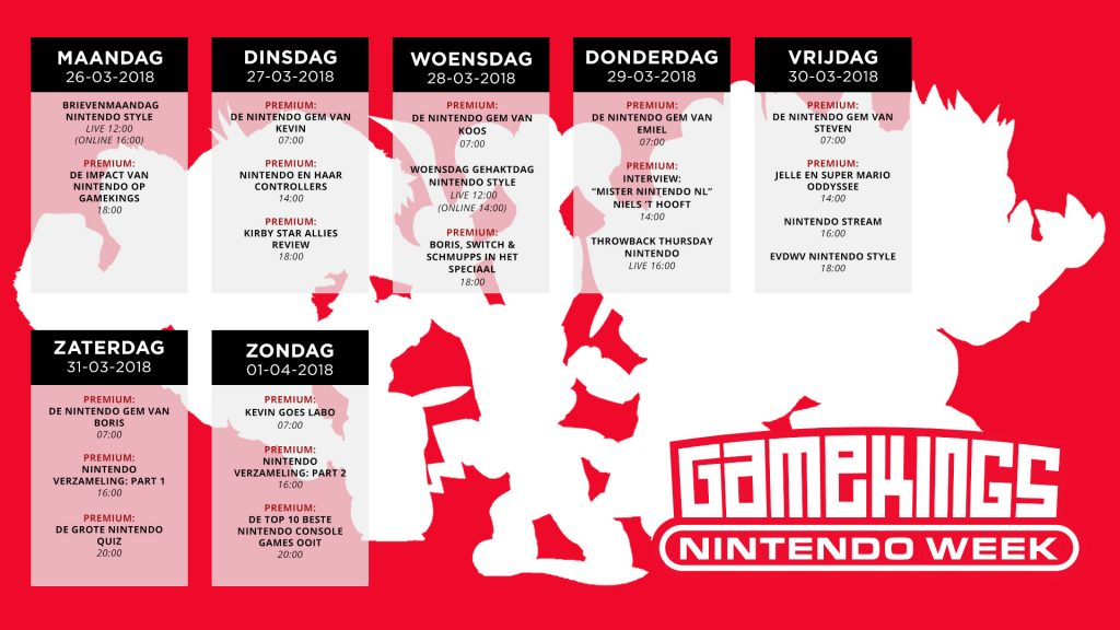 Gamekings Premium Nintendo Week