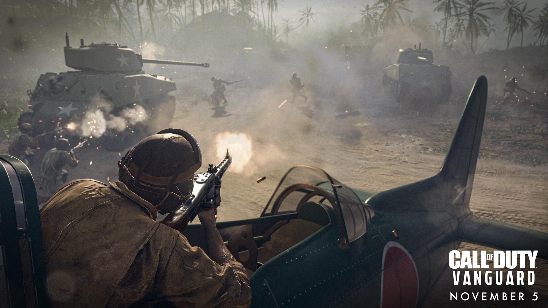 Gameplay campaign Call of Duty: Vanguard getoond tijdens Gamescom - Gamekings