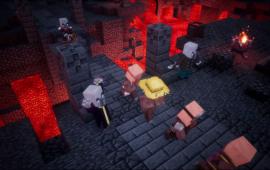 Minecraft Dungeons heeft een release maand: april 2020